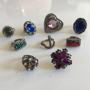 Jewelry - Assorted rings